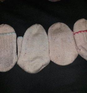 Носки детские шерстянные