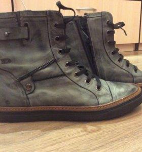 Ботинки-кеды кожаные Dolani