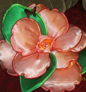 Интерьерные подушечки розы. Эксклюзивный подарок.