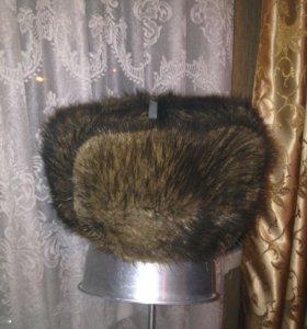 Мужская ондатровая шапка