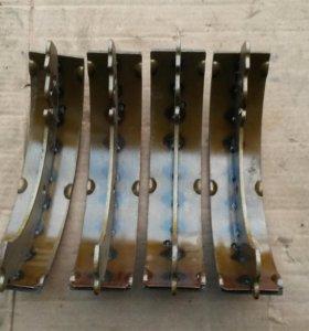 Колодки заднии на ваз 2101-07