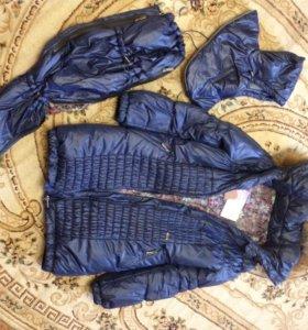 Слинго-куртка для беременных.Зима.