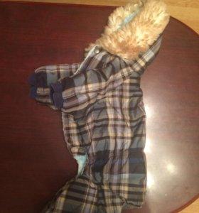 Комбинезон на зиму для маленькой собачки