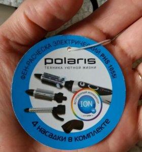 Фен-расческа Polaris