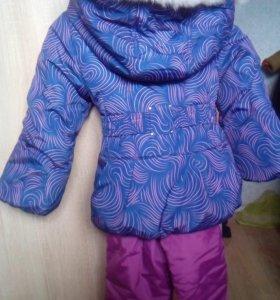 Новый зимний костюм 122 р-р