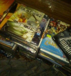 DVD фильмы и игровые диски
