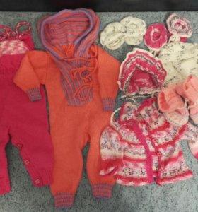 Вязаные комплекты для малыша
