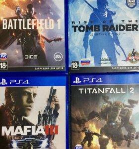 Игры для консолей PlayStation PS4, PS3, XBOX360