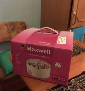 Йогуртница maxwell me-1430w