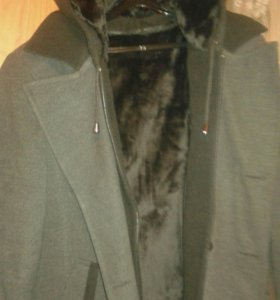 Мужское пальто осень-зима