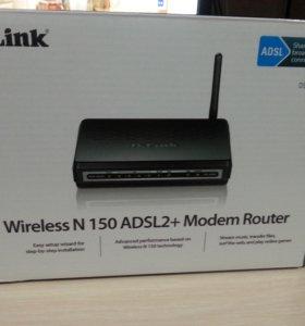 Adsl роутер D-link Dsl 2640 u