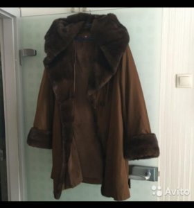 Пальто зимнее Пихора 48-50 (норка,ласка)
