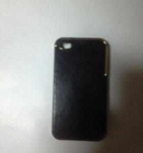 Черный бампер для IPhone 4s