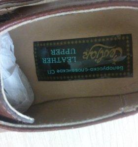 Новые кожанные ботиночки