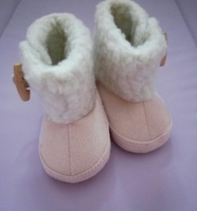 Сапожки. Первая обувь.