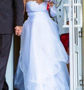 Свадебное платье (можно беременным)
