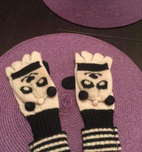 Перчатки- варежки, Agcessorize