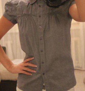 Рубашка с укорочённым рукавом