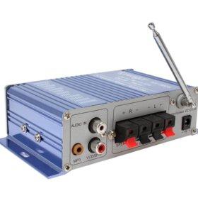 Аудиоусилитель с радио, usb, sd card, и aux