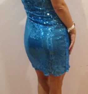 Платье + болеро 44-46. Цена снижена.