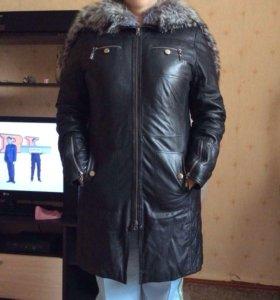 Пальто зима снежная королева