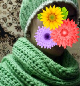 "Комплект "" шапка и шарф"""