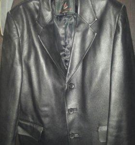▲▲▲Пиджак кожаный мужской♣♣♣