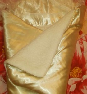 Одеяло конверт на выписку и просто так