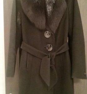 Пальто зимнее 44-46 р