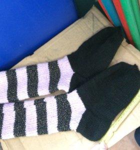 Носки вязанные
