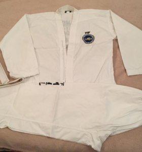 Кимоно для тхэквондо ITF 180 см с поясом