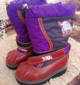 Новые зимние сапоги из монголии