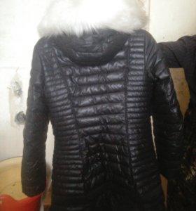 Зимняя куртка(до колен)