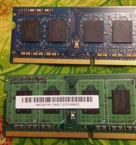 Продам Оперативная память для ноутбука