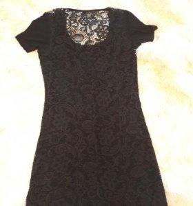 Платье с кружево