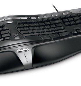 Microsoft Natural Ergonomic Keyboard 4000 (новая)