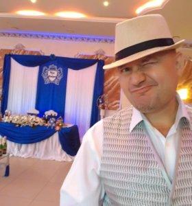 Ведущий певец тамада на свадьбу юбилей корпоратив