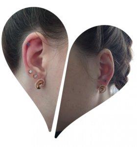 Пирсинг и прокол ушей