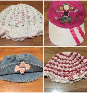 Летние шапки, панамки, бейсболки