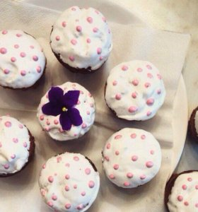 Кексы, капкейки и натуральные конфеты