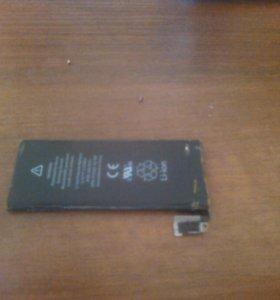 Батарея айфона срочно на айфон 4