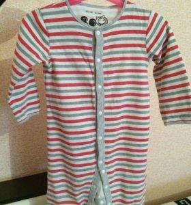 Бодик-пижамка 👍