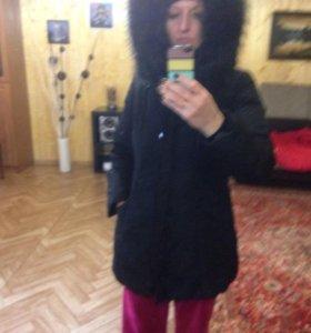 Куртка женская с натур мехом