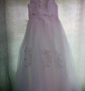 Свадебное платье+ фота+ подьюбник с тремя кольцами