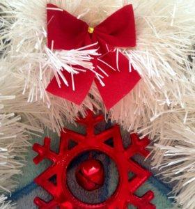 Рождественские новогодние венки