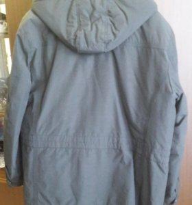 Мужская теплая куртка.