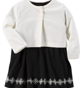 Картерс платье с кардиганом