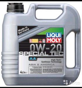 Масло моторное Liqui Moly Special Tec AA 0w20, 4 л