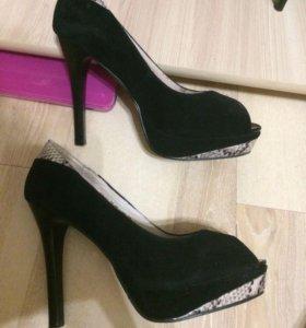 Туфли кожа натуральная и замша