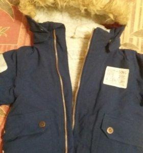Зимняя куртка Didriksons 90см.